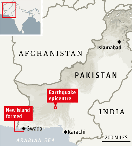 Pakistan earthquake: hundreds feared dead in remote Baluchistan
