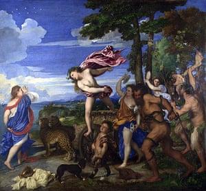 Blue: Bacchus and Ariadne