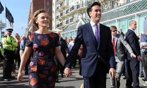 Justine Thornton and Ed Miliband