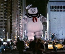 Staypuft Marshmallow Man from Ghostbusters (1984)