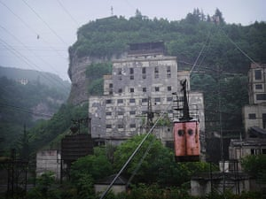 Chiatura cable car: Soviet era miners' cable car