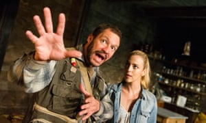 Dominic West and Miranda Raison in The River by Jez Butterworth