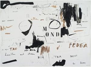 Mira Schendel 2: Untitled 1964 Ink