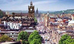 Edinburgh town centre
