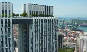 Pinnacle@Duxton housing in Singapore