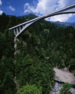 Ten best: Salginatobel Bridge, Switzerland