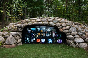 Oslo sculpture park: Tony Oursler