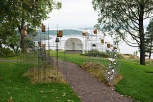 Oslo sculpture park: Sarah Sze