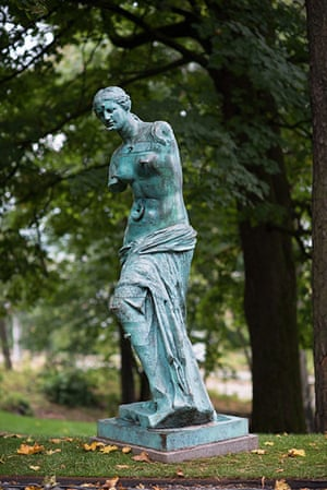Oslo sculpture park: Salvador Dali