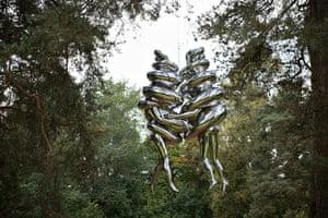 Oslo sculpture park: Louise Bourgeois, The Couple