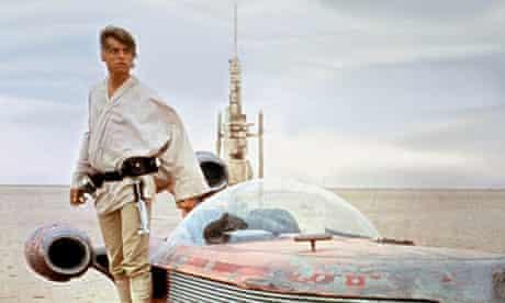 Mark Hamill as Luke Skywalker in the first Star Wars film