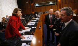 Dianne Feinstein and intelligence chiefs