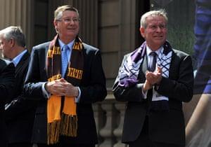 AFL Parade: Dennis Napthine and  Colin Barnett