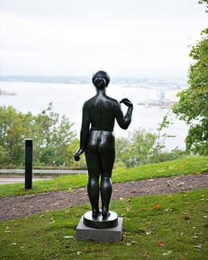 Oslo sculpture park: Aristide Maillol, Nue Sans Draperie