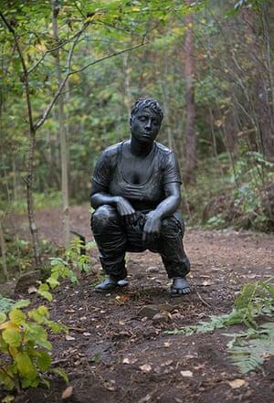Oslo sculpture park: Ann-sofi Sidén, Fideicommissum