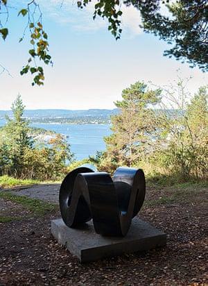 Oslo sculpture park: Aase Texmon Rygh, Möbius Trippel