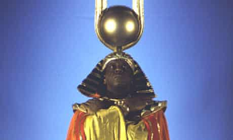 Sun Ra in the film Space is the Place