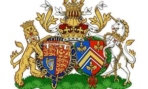 conjugal coat of arms Duke and Duchess of Cambridge.