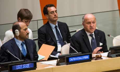 Syria UN general assembly