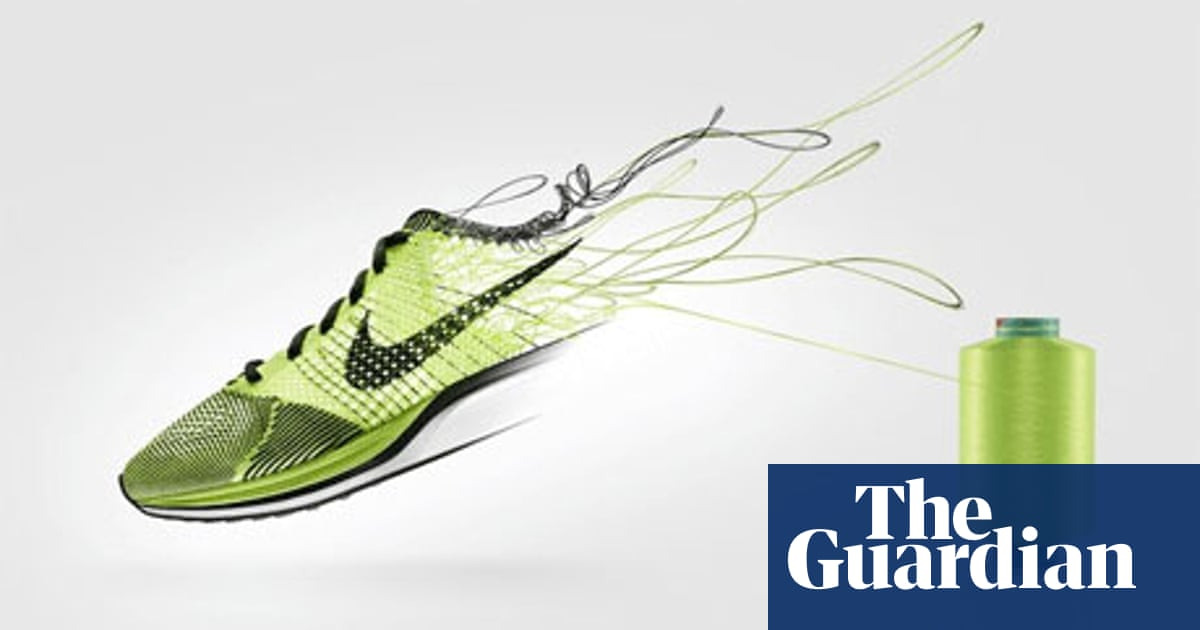 Espectador mero locutor  How Nike Flyknit revolutionized the age-old craft of shoemaking | Partner  zone Nike | The Guardian