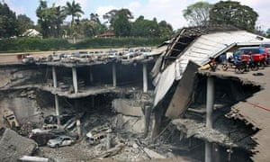 Ruins of Westgate mall, Nairobi 26/9/13