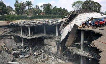 Ruins of Westgate mall, Nairobi 26/9/13