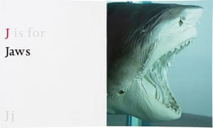 J is for Jaws, from ABC by Damien Hirst