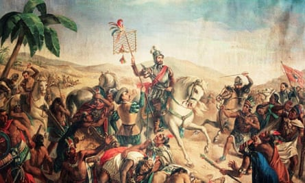 Cortés fights the Aztecs 1520