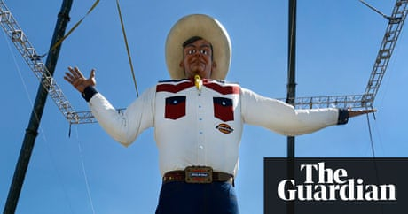 Texas state fair unveils big tex statue bigger heavier and fire texas state fair unveils big tex statue bigger heavier and fire resistant us news the guardian publicscrutiny Image collections