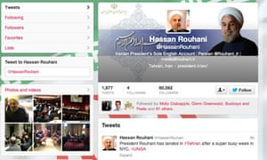 hassan rouhani twitter