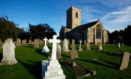 St Andrew's church in Paull, East Yorkshire, which has a new community broadband provision.