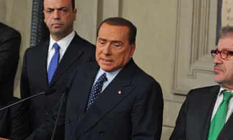 silvio berlusconi calls for fresh Italian elections as soon as possible