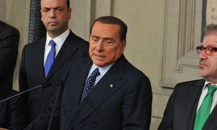 silvio berlusconi calls for fresh Italian elections as soon as possible