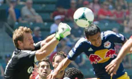 Tim Cahill in action for New York Red Bull last month.