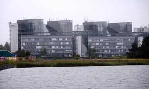 The headquarters of Finnish mobile phone manufacturer Nokia is pictured in Espoo September 3, 2013.