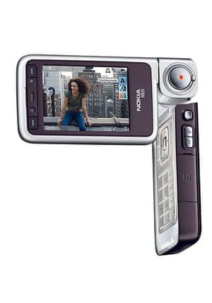Nokia timeline: 2007: Nokia N93i highend clamsehll smartphone with digital camcorder