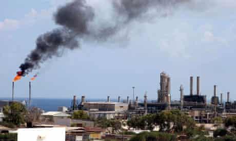 Zawiya Oil Refinery