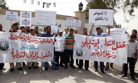 Oil protests in Libya