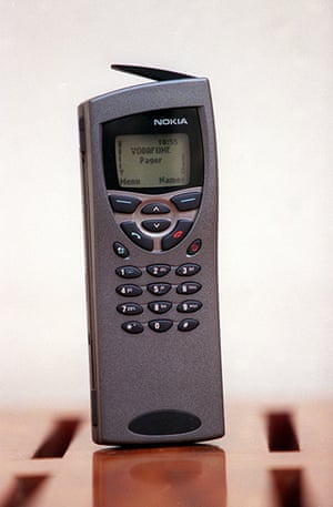 Nokia timeline: 1999: A Nokia 9110 which has a fax phone and internet connection