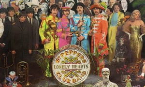 Sgt Pepper's Lonely Hearts Club Band album cover