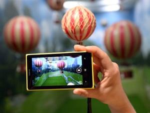 2013: The Nokia Lumia 1020, a Windows Phone with a 41-megapixel camera