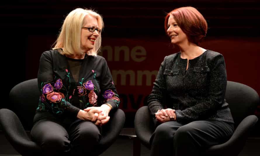 Julia Gillard with Anne Summers