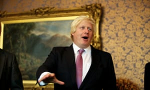 Boris Johnson at the Tory conference on 30 September 2013.