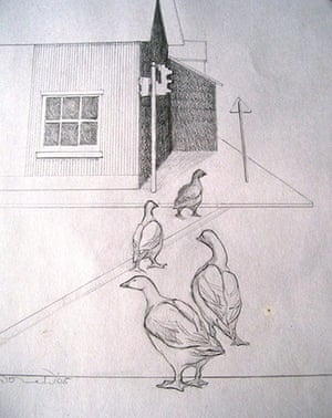 Share your art everyday: Urban Geese