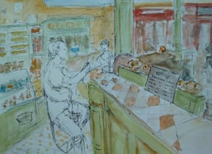Share your art everyday: Morning coffee