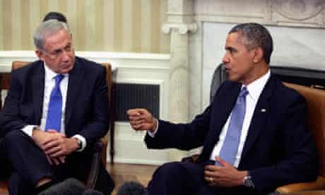 Obama Meets Netanyahu at White House