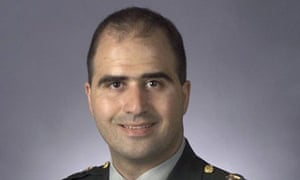 Nidal Hasan as he appeared before the Fort Hood shooting, after which he grew a beard