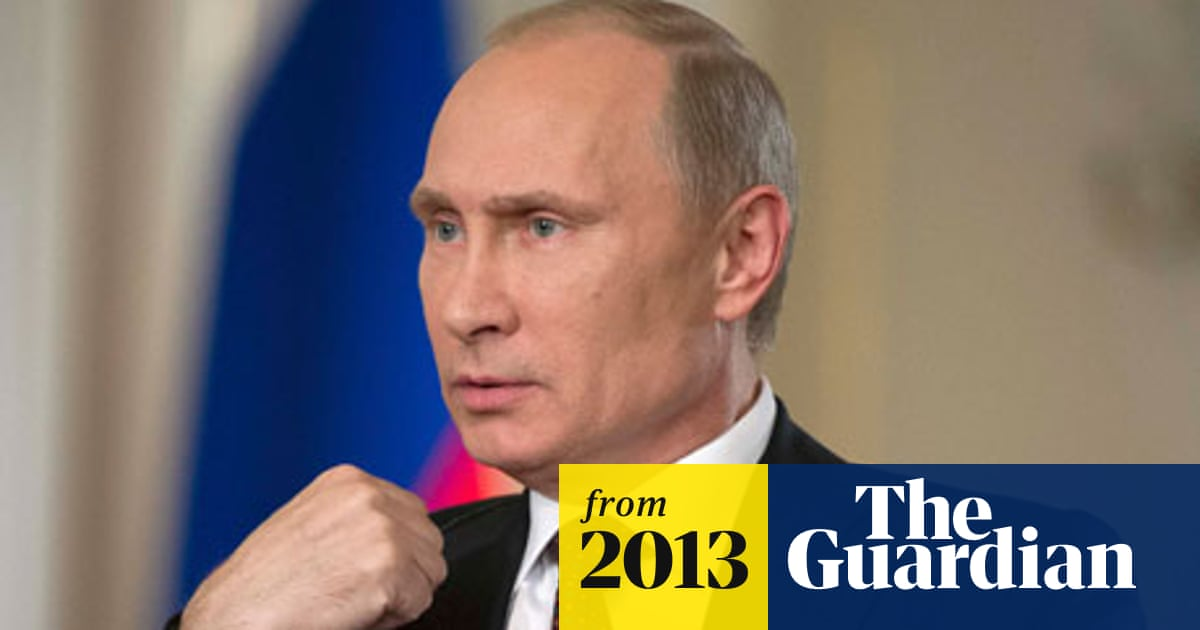 We Have Our Plans Vladimir Putin Warns Us Against Syria Military Action Vladimir Putin The Guardian