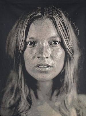Kate Moss At Christie's: Chuck Close