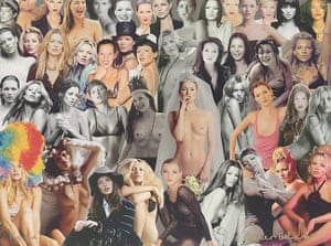 Kate Moss At Christie's: Peter Blake